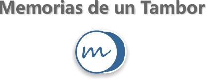 Memorias de un tambor. Logo